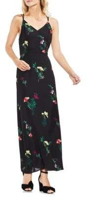 Vince Camuto Topic Heat Tropic Garden Sleeveless Maxi Dress
