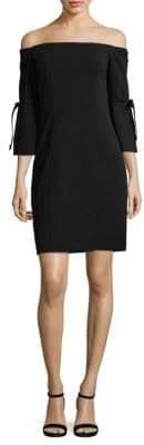 Alexia Admor Tie Sleeve Mini Dress