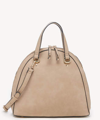 Sole Society Women's Dwani Satchel Vegan Leather In Color: Taupe Bag From