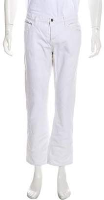 Incotex Striped Linen Casual Pants