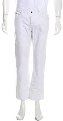 Incotex Striped Linen Casual Pants