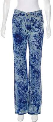 Just Cavalli Mid-Rise Splatter Jeans w/ Tags
