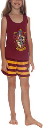 Intimo Harry Potter Gryffindor Plush Short Set