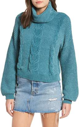 BP Cable Knit Chenille Sweater