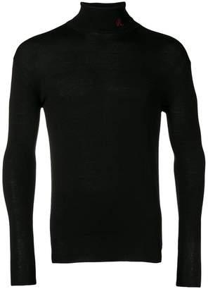 Raf Simons contrasting pocket shirt