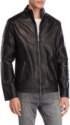X-Ray X Ray Black Faux Leather Moto Jacket