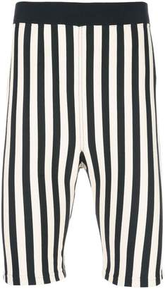 Marni striped casual shorts