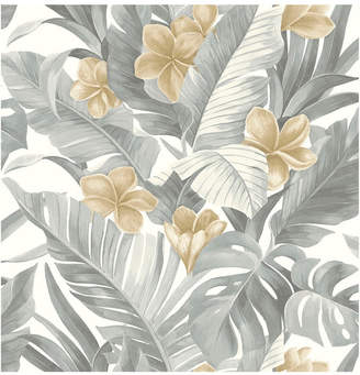 Brewster Home Fashions Neutral Paradise Peel And Stick Wallpaper