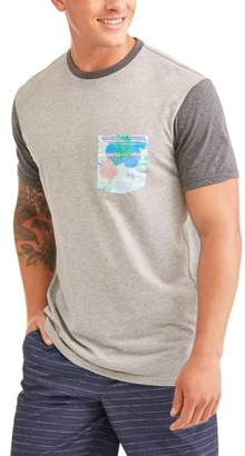 Cherokee Men's Short Sleeve Cotton Poly Jersey Tee