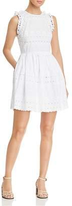 Kate Spade Eyelet Lace Mini Dress