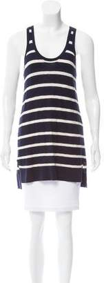 Vince Sleeveless Striped Top