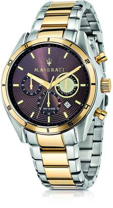 Maserati Sorpasso Two Tone Stainless Steel Chrono Men's Watch