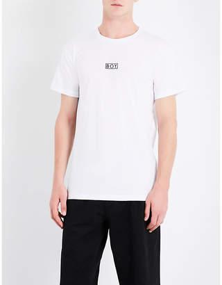 Boy London Eagle-print cotton-jersey T-shirt