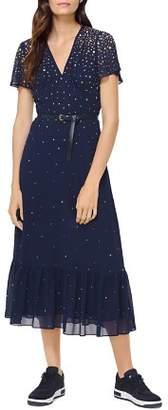 MICHAEL Michael Kors Studded Midi Dress