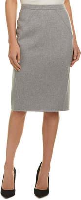 Carolina Herrera Cashmere Pencil Skirt