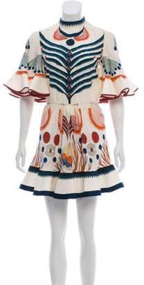 Chloé 2018 Folkloric Dress