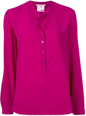 Stella McCartney block colour blouse