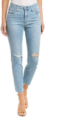 AG Jeans Isabella 20 Years Rogue High-Rise Straight Crop