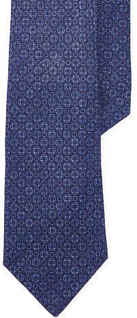 Polo Ralph LaurenPolo Ralph Lauren Geometric Linen Narrow Tie