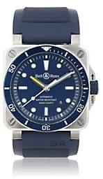 Bell & Ross Men's BR 03-92 Diver Watch - Blue