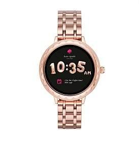 Kate Spade Scallop Touchscreen Smartwatch Pink Display Smartwatch
