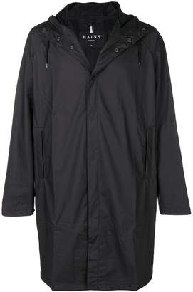 Rains waterproof hooded coat