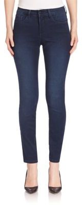 NYDJ Faded Legging Jeans $114 thestylecure.com