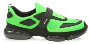 Prada Cloudbust Low-Rise Mesh Sneakers