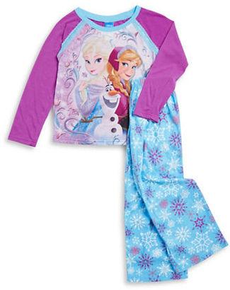 Ame Sleepwear Frozen Pajama Set $36 thestylecure.com