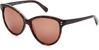 Stella McCartney Dark Havana SC0002S Cat Eye Sunglasses