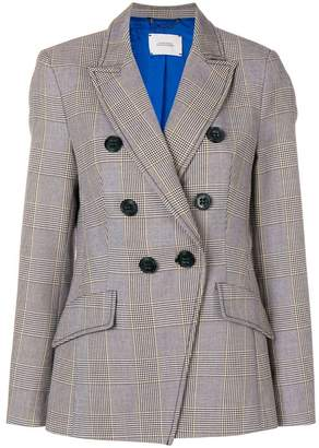 Dorothee Schumacher plaid double breasted jacket