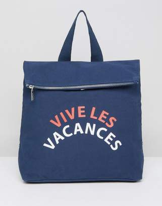 Whistles Vive Les Vacances Backpack