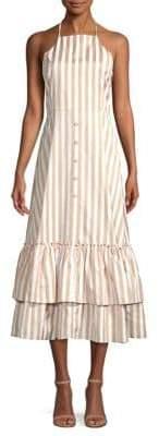 Caroline Constas Gretta Ruffle Dress