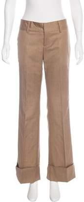 Brian Reyes Wool Mid-Rise Pants