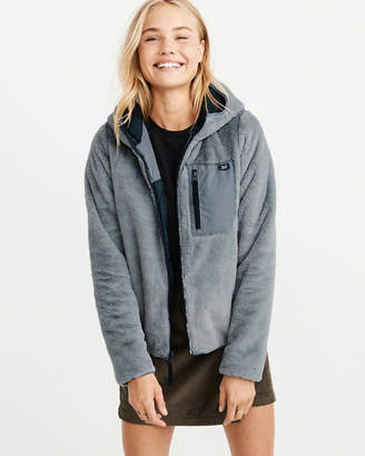Abercrombie & Fitch Full-Zip Cozy Hooded Jacket