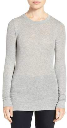 Trouve Sheer Layering Tee $49 thestylecure.com