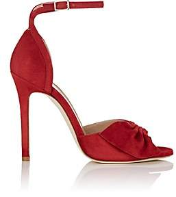 Alexander White Women's Maria Suede Ankle-Strap Sandals - Red