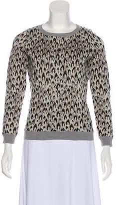 Diane von Furstenberg Wool Metallic Sweater