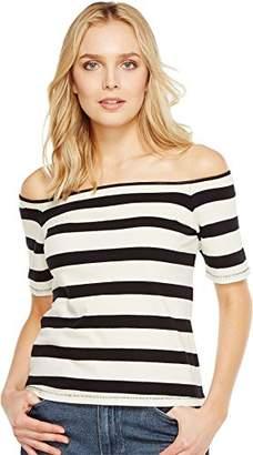 Splendid Women's Seaboard Stripe Off Shoulder