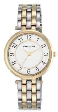 Anne Klein Dual-Toned Bracelet Watch