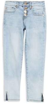 7 For All Mankind Girl's Faded Jeans