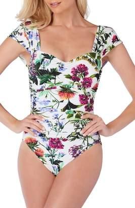 Magicsuit R) Modern Romance Natalie One-Piece Swimsuit