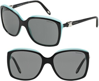 Tiffany & Co. 58mm Rectangular Sunglasses