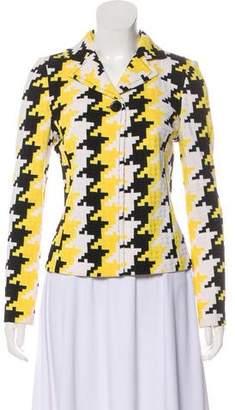 St. John Printed Long Sleeve Jacket w/ Tags