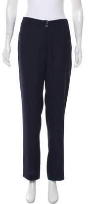 Ivan Grundahl Mid-Rise Straight-Leg Pants