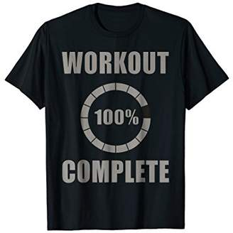 Workout Complete 100% Sweat Activated tshirt for Men Women