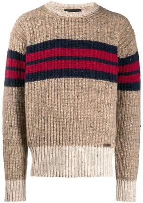 DSQUARED2 striped jumper