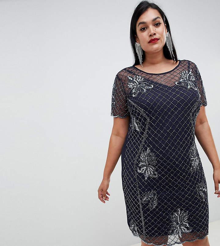 Lovedrobe Luxe Plus Lovedrobe Lux embellished shift dress