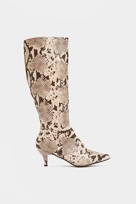 Nasty Gal My Anaconda Don't Knee-High Boot