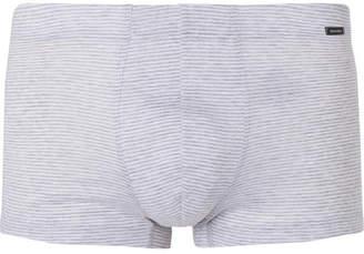 Hanro Striped Mercerised Cotton Boxer Briefs